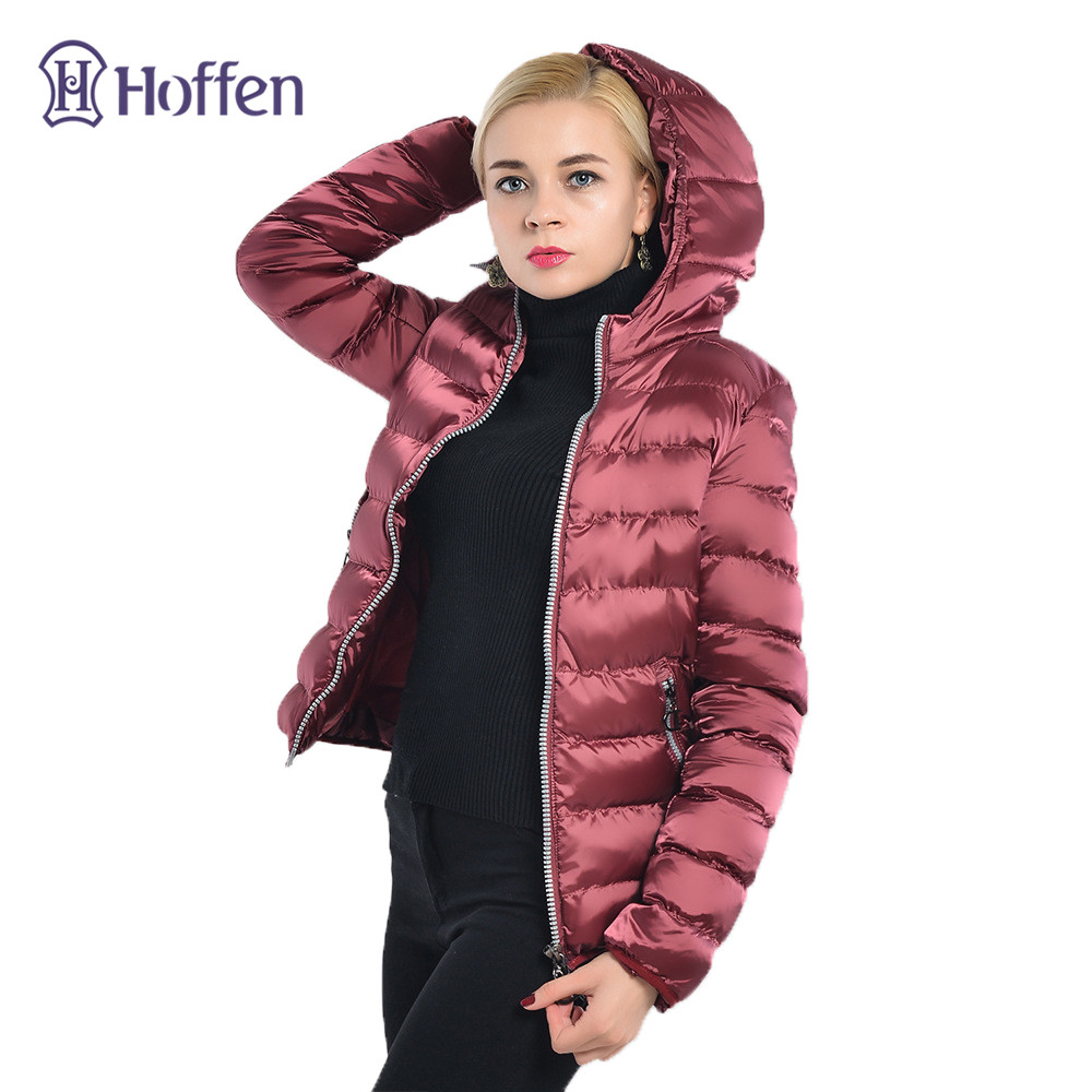 Hot!2017 New Fashion Winter Jacket Female Warm Thick Short Hooded Parka Slim Fit Solid Cotton Padded Jackets Winter Coat WS288 winter jacket men thick warm hooded winter coat cotton padded jackets fashion young mens slim fit outwear parka hombre