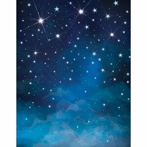 Image 3 - Allenjoy sfondo fotografico Spazio blu stelle brillano foto fondali per la vendita photography fantasia tessuto del vinile photocall
