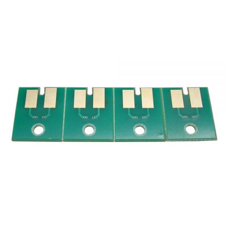 4pcs/set CMYK Permanent Aqueous FPG Chips For Roland FH-740 permanent roland xj 640 xj 740 eco solvent chips 6pcs set cmyklclm printer parts