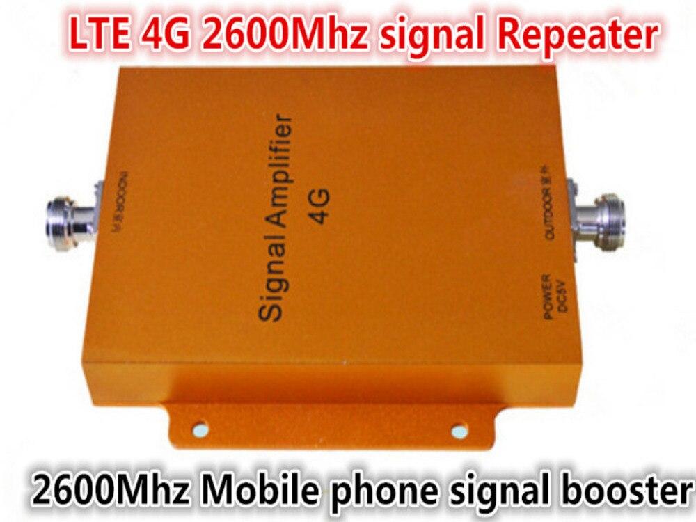 4G LTE amplificateur répéteur 4G 2600 MHz amplificateur de Signal cellulaire 4G amplificateur de Signal de téléphone portable amplificateur de Signal de téléphone portable répéteur de Signal