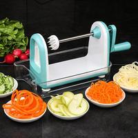 MeterMall Multifunctional Spiral Grater for Vegetable Fruit Kitchen Tool