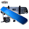new 6.86 inch Car DVR Rearview Mirror Camera GPS Android 4.4 Allwinner A33 Quad-core Full HD 1080P GPS Navigation 1GB 16GB