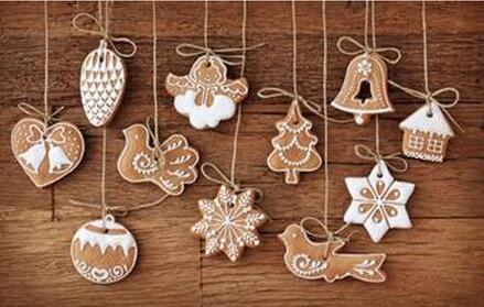 Polymer Clay Christmas Tree Decorations.Us 38 0 20 Off 10 Sets Hanging Ornament Snowflakes Decor Polymer Clay Drop Pendants Christmas Tree Baubles Decoration Enfeites Ornaments In Pendant