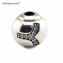 Aries Perlas agujero de 2.5mm Encaja Pandulaso Esencia Pulsera Original Diy 925 Cuentas de Plata Esterlina Encantos para Hacer La Joyería FE042