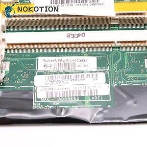 Image 4 - NOKOTION Lenovo thinkpad T61 T61P laptop anakart 42W7653 44C3931 42W7877 15.4 965PM DDR2 FX570M grafik ücretsiz cpu