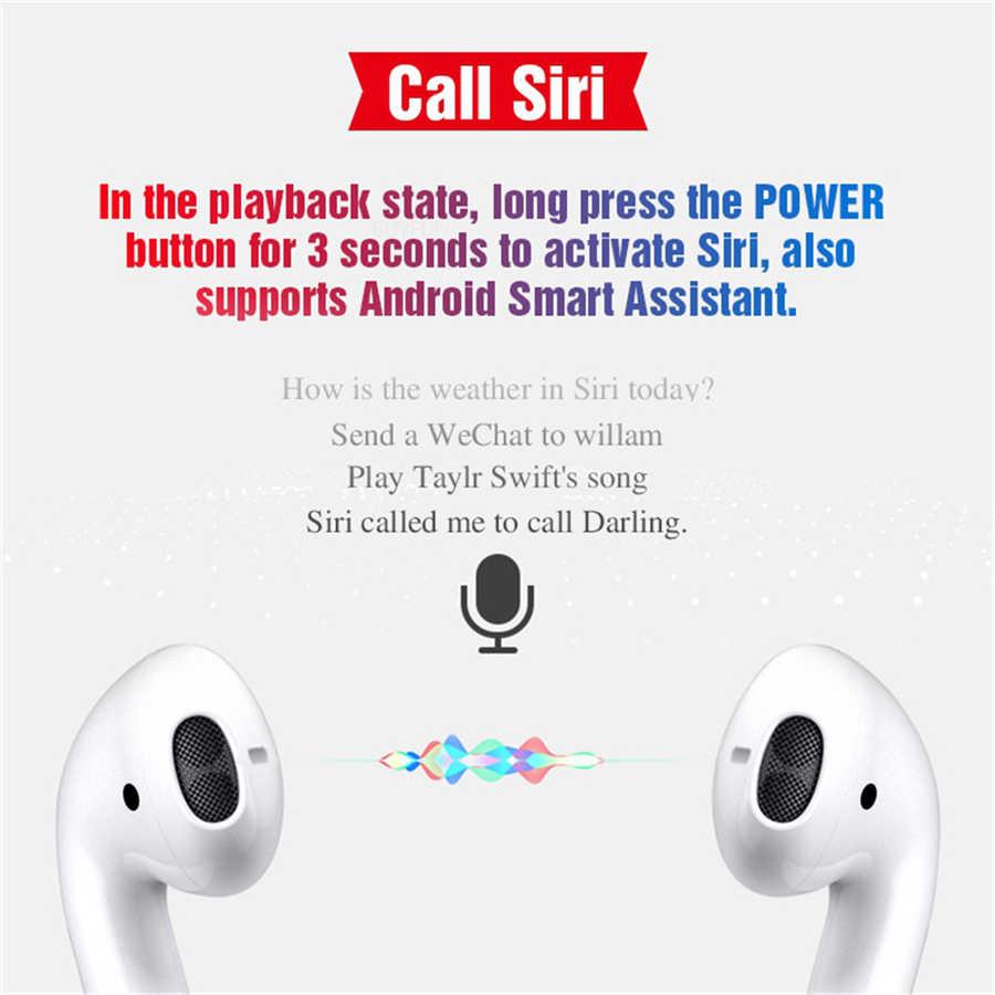 57c80eeb8a9 ... Original i12 TWS i10 auriculares inalámbricos auriculares Bluetooth  Control táctil y 3D estéreo auriculares para iPhone ...