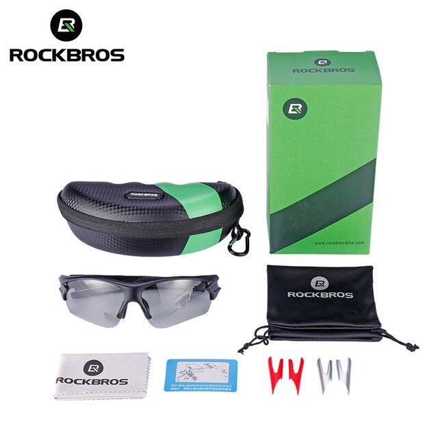 Rockbros (1006) Sport Photochromic Polarized Glasses