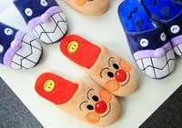 Plush Cute 1 Pair Cartoon Couple Anpanman Baikinman Soft Soled Funny Winter Lady Home Floor Slippers