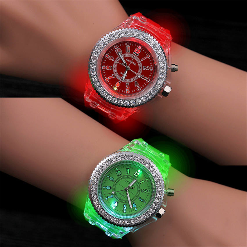 Birthday Children's Watch Illumination Child Quartz Clock Boy Girl Wrist Watches Personality Lantern Factory Wholesale Drop Ship