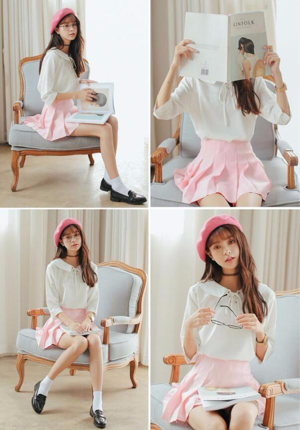 HTB1z V6NVXXXXbfaXXXq6xXFXXX6 - Summer American School Style Fashion Skirts