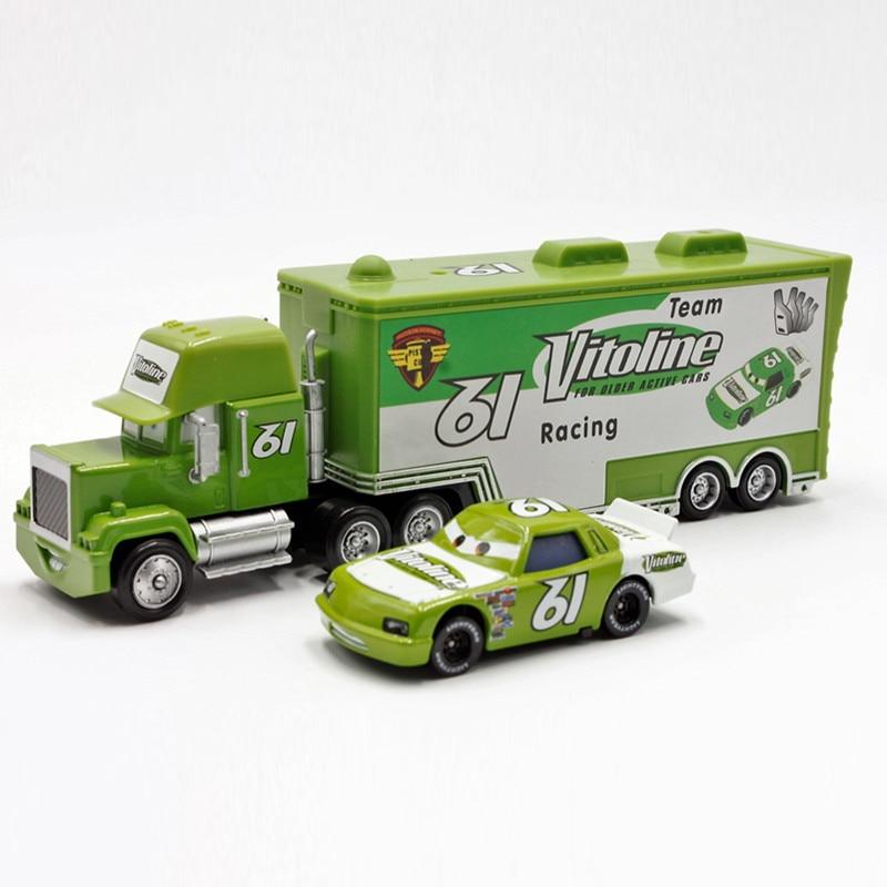 Disney Pixar Cars No.61 Mack Truck + Small Car Vitonline