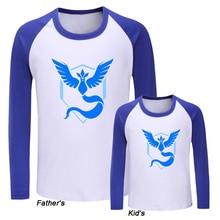 b26ea0893ec21 Pokemon Go Game Fans Articuno Team Blue Team Design Family T-shirts Mens  Womens Kids