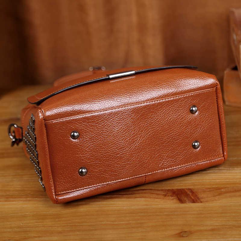 Inek derisi kadın deri çantalar hakiki deri çanta çanta kadın ünlü markalar tasarımcısı yüksek kaliteli en iyi yükleyici çanta yeni T12