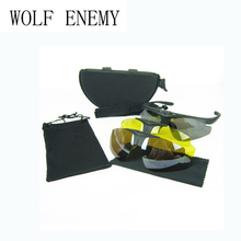 Tactical Polarized C1 Military Sunglasses Men Airsoft Outdoo