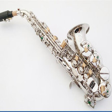 B flat small local treble saxophone / tube musical instruments electro less nickel antioxidant