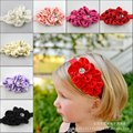 Hair Accessories Baby Headband for Girl Elastic Hair Bands Cute  Flower Baby Girl Headwrap Infant Headbands bandeau bebe