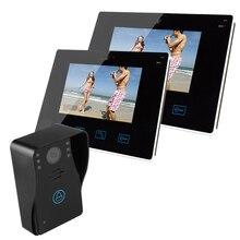 9 inch TFT Wired Video Doorbell Intercom Door phone Home Security camera ,video door phone intercom system