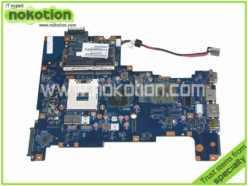 NOKOTION Laptop motherboard for Toshiba Satellite L670 L675 K000103780 NALAA LA-6042P ATI HD 5470 Graphics nokotion sps v000198120 for toshiba satellite a500 a505 motherboard intel gm45 ddr2 6050a2323101 mb a01