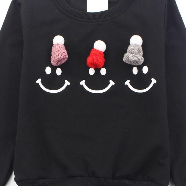 Startist Girls Sweatshirt Long Sleeve Cartoon T-shirts Girls Spring Autumn Teenage Kids Clothes 2 8 9 10 12 Years
