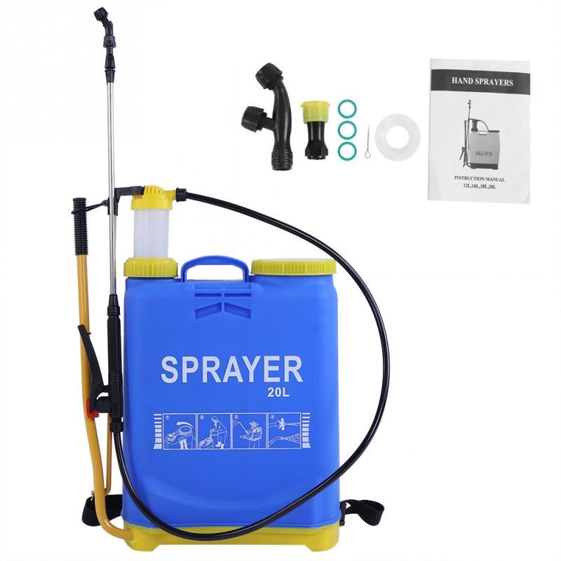 20L Water Sprayer Large Capacity Pressure Manual Backpack Sprayer Agricultural Garden Bottle Drip irrigation system