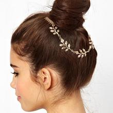 24pcs/lot Bridal Jewelry Ornament Leaves Hairwear Tuck Comb Hairband Hairbrush Wedding Party Headdress Hair Comb jt128 цена в Москве и Питере