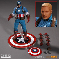 NEW hot 16cm Avengers Captain America Cloth clothes collectors action figure toys Christmas gift doll