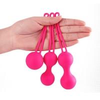 100% SIlicone Vagina Vibrators Kegel Ball Vaginal Ball Adult Sex Toys Sex Products
