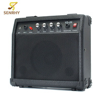 SENRHY Portable Electric Guitar Speaker Amplifier Micro Speaker 20W With Portable Handle For Guitar Learners AC