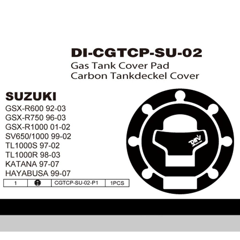 Motor Fuel Tank Cap Protector Sticker Decal For Suzuki GSXR 750 1996-2003 02 01