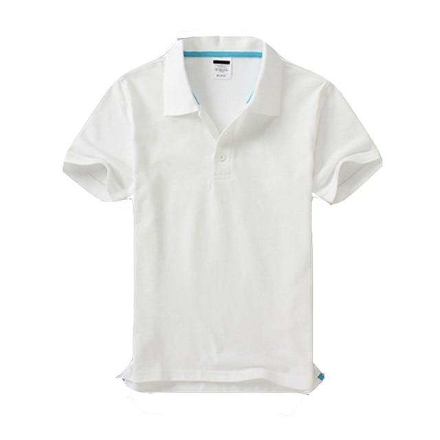 Черный синий белый серый желтый с коротким рукавом женская футболки-поло Женская Повседневная Поло свободные негабаритных женские рубашки работы хлопка топы