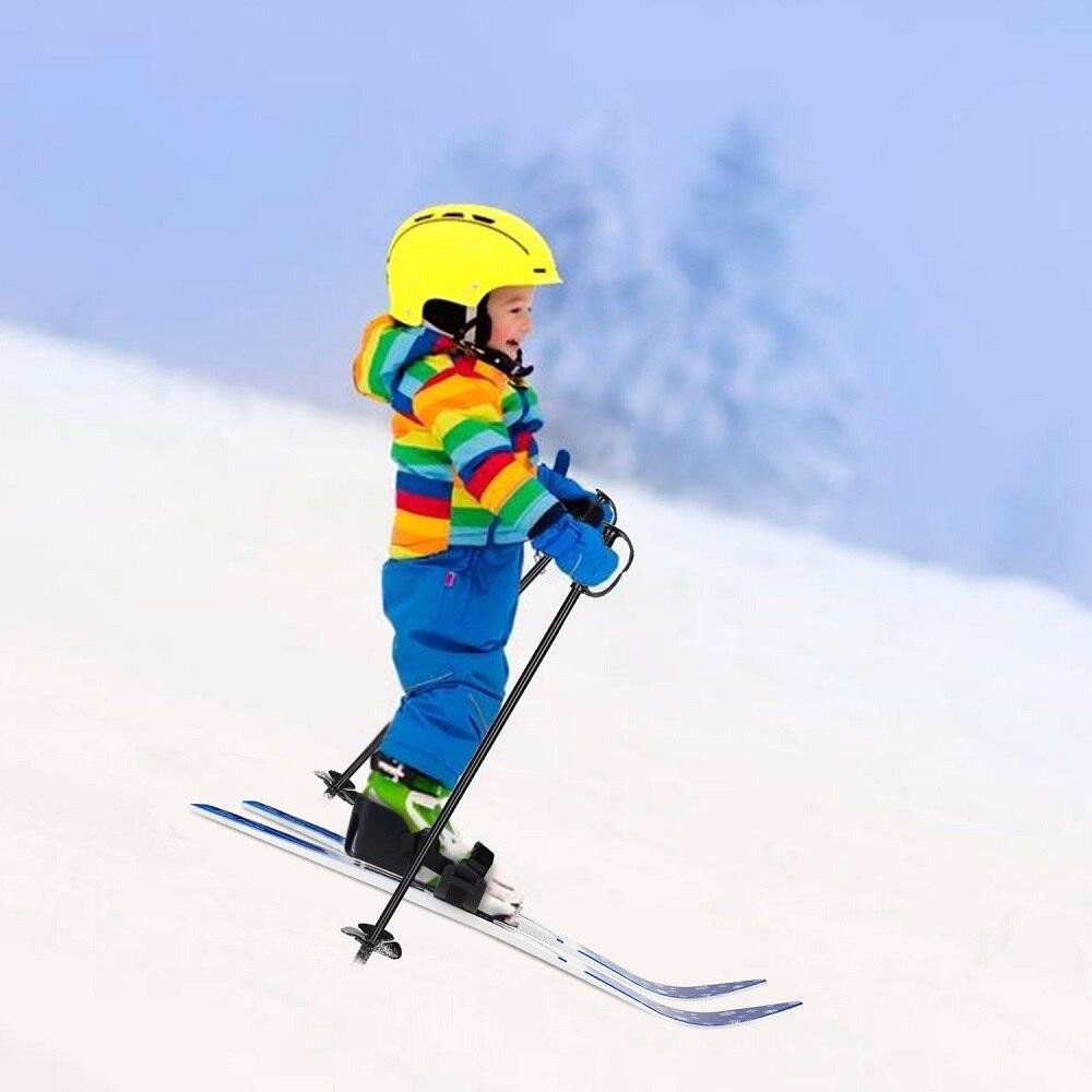 Enfant Débutant Neige Skis et Bâtons Bas Résistant à Haute Qualité Ski Conseils pour Enfants Snowboards