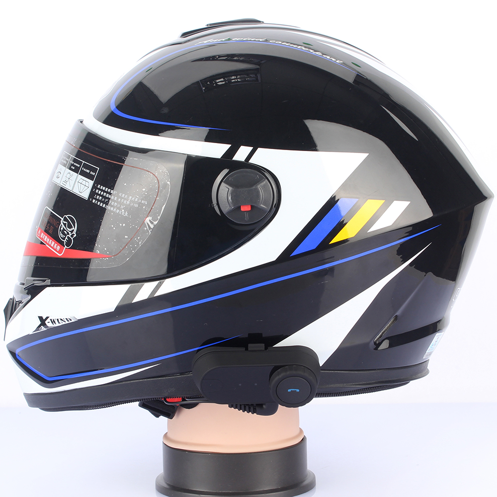Motorcycle Helmet Bluetooth Headset Intercom For 3 Rider