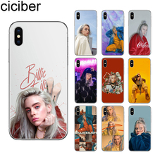ciciber Billie Eilish Khalid Lovely Phone Case Cover For iPhone 11 Pro Max X XR XS 7 8 6 6S Plus 5S SE Soft TPU Fundas Coque