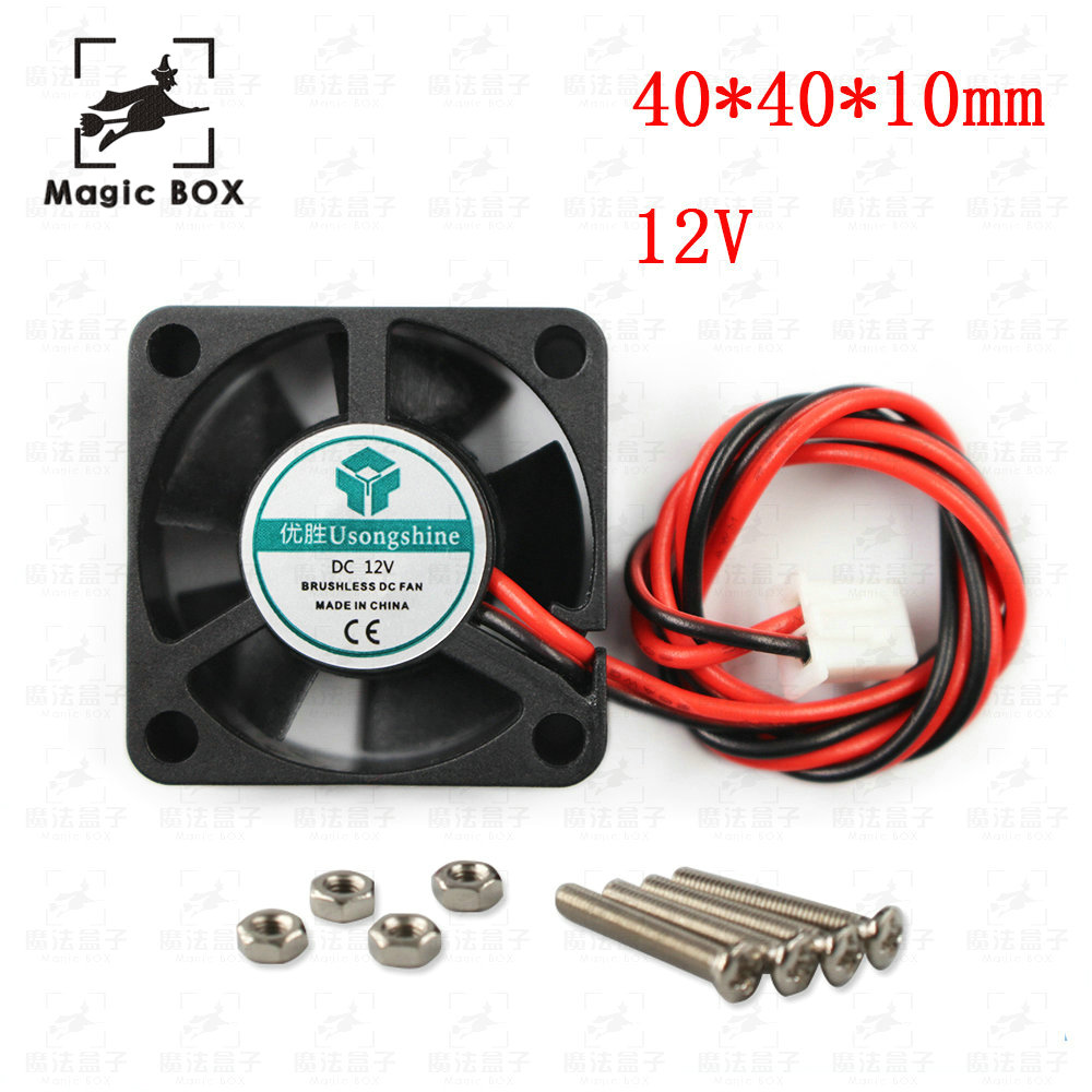 medium resolution of 3d pinter fan 5pcs lot 40x40x10mm 4010 fans 5 12 24 volt brushless
