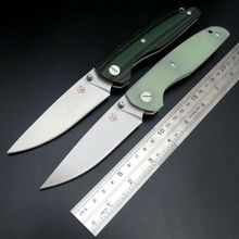 Recommended EDC Tool F33 Bearing folding knife D2 blade G10 handle outdoors camping hunting pocket fruit knives Hand Tool