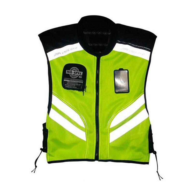 Haute visibilité protection moto gilet moteur sécurité tissu moto réfléchissant vêtements de sécurité moto réfléchissant tissu