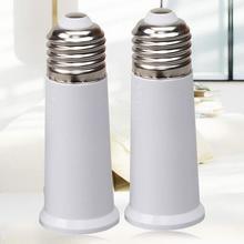 LumiParty E27 65mm Light Bulb Extend Socket Base Lamp Holder Converter Light Bulb Cap Conversion Adapter e14 to e27 flexible extend extension adapter socket 18 28 38 48 58cm led light bulb lamp base holder converter