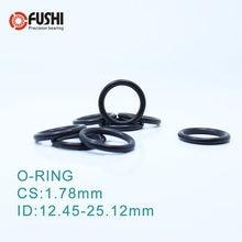 ID=103~400 FPM Green Fluorine Rubber O-Ring Gasket Oil Sealing Washers Ø3.55mm