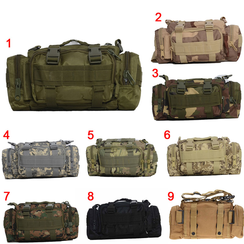 Fashion Multifunction Men Bag Strategic Game Camouflage Waist Belt Bags LBY2017