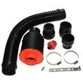 """3 """"Kits De Admissão De Ar Frio Universal Caixa De Entrada De Ar Com Filtro Para O Desempenho Do Motor Do Carro de Corrida Produtos"""