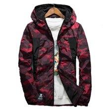Quick Dry Men Windbreaker Skin Coat Sunscreen Waterproof Mens Camouflage Army Outwear Ultralight Windbreake Jacket Autumn coat