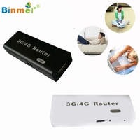 Binmer MotherLander 3G 4G WiFi Wlan Hotspot AP Client 150Mbps RJ45 USB Wireless Router Feb16