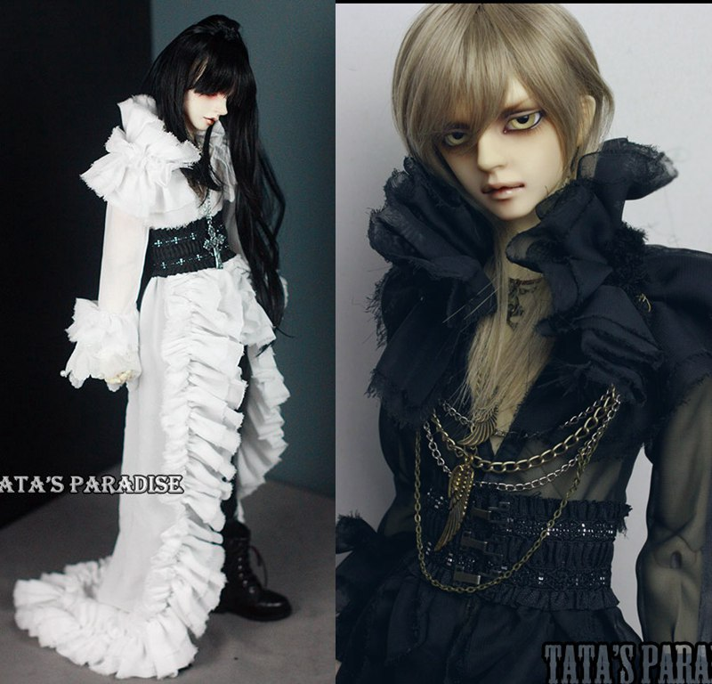 1/3 scale BJD doll boy clothing Gothic style dress for BJD accessory SD SD17 SSDF.Not included doll,shoes,wig and other 17C3552 uncle 1 3 1 4 1 6 doll accessories for bjd sd bjd eyelashes for doll 1 pair tx 03