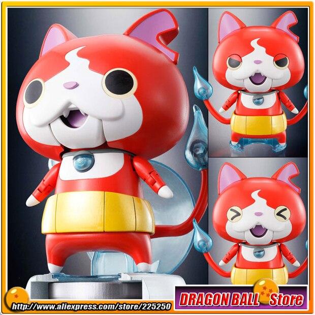 Japanese Anime Youkai Watch Original BANDAI Tamashii Nations Chogokin Toy Action Figure - Jibanyan japanese original anime figure eikoh puzzle