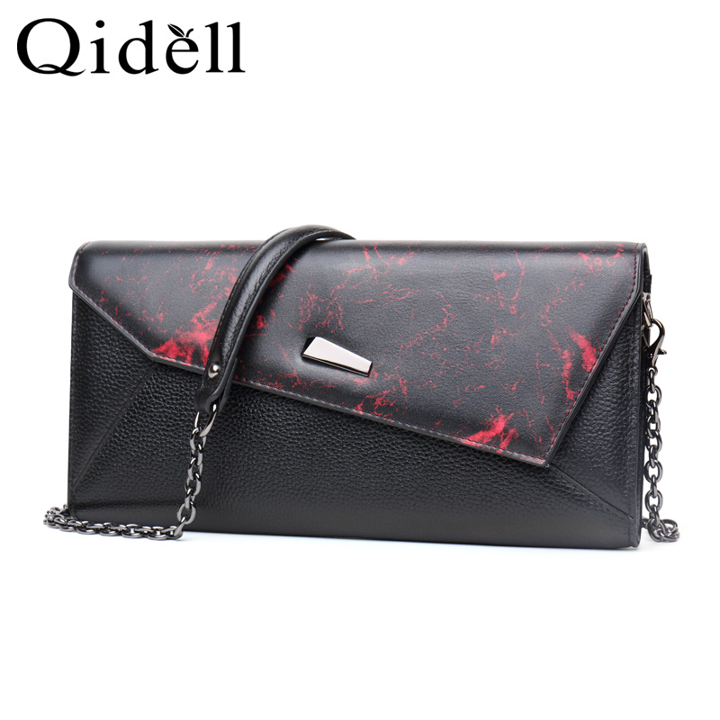 Qidell K521 New Styles Genuine Leather Hangbag For Banquet/ Day Clutches For Women saia burgess pcd2 k521