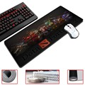 Dota 2 Free Shipping 30x60cm and30x70cm Black Anti-skid Extended Gaming Wide Large Mouse Pad Mat Big Size Desk Mat/Keyboard Mat