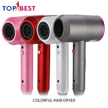 Four Color Hair Dryer for Hairdressing Barber Salon Tools Blow Dryer Low Hairdryer Hair Dryer Multifunctional Styling Tools 2200w power hair dryer professional salon blow dryer 2200w hairdryer styling tools salon household use hairdresser blower hair