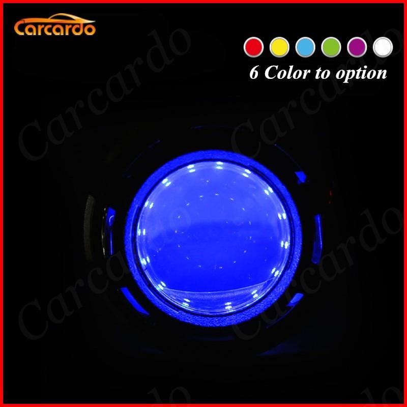 Carcardo 2PCS Reflektory samochodowe DIY Diabelskie oczy Zestaw - Światła samochodowe - Zdjęcie 2