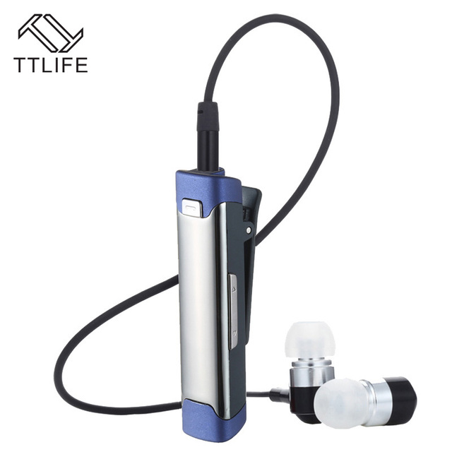 TTLIFE Беспроводные Наушники Bluetooth 4.1 Наушники Стерео Super Bass Наушники С Микрофоном FM Спорт Динамик для Смартфонов