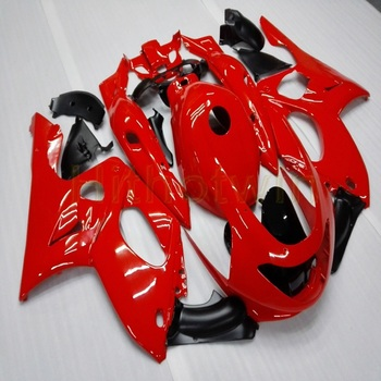 Custom motorcycle fairing for YZF600R 1997 1998 1999 2000 2001 2002 2003 2004 2005 Thundercat+Gifts+red